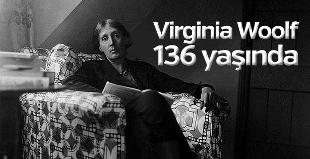 Virginia Woolf 136 yaşında
