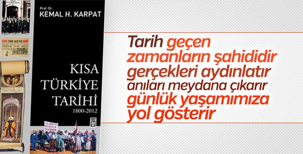 Kemal Karpat'ın kaleminden Kısa Türkiye Tarihi