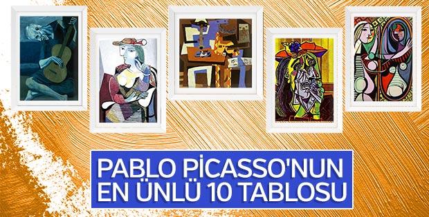 Pablo Picassonun ünlü Tabloları