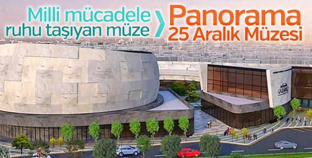 Panorama 25 Aralık Müzesi'nde sona doğru