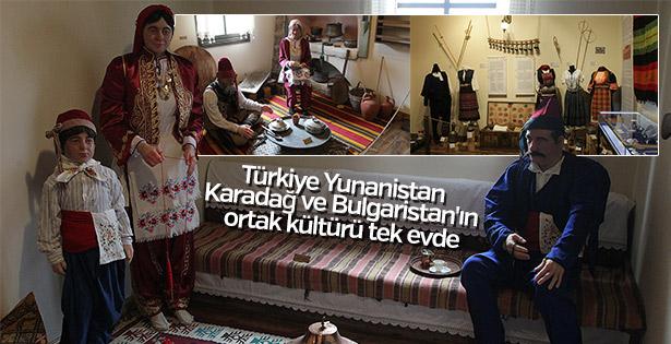 Balkan kültürü 'Kültür Evi'nde yaşatılıyor