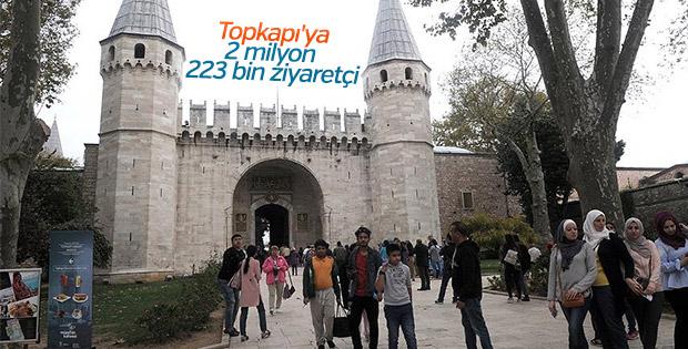 Topkapı Sarayı'na ziyaretçi rekoru