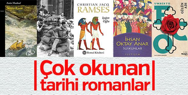 Çok okunan önemli tarihi romanlar
