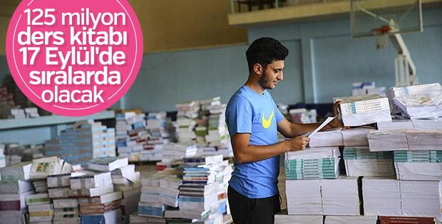 125 milyon ücretsiz ders kitabı illere ve okullara ulaştı