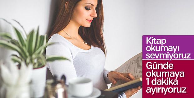 Kitap okumak, ihtiyaç listemizin 235'inci sırasında