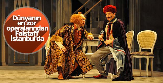 Falstaff operası İstanbul'da sahnelenecek
