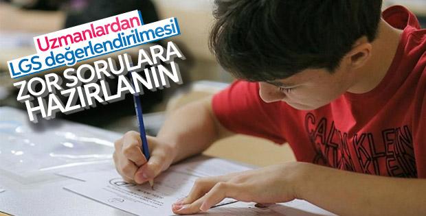 1 Haziran'da yapılacak LGS sınavı öğrencileri zorlayacak