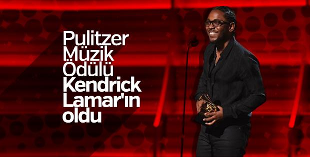 Kendrick Lamar Pulitzer Ödülü'nü kazandı
