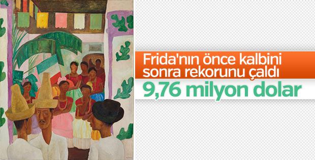 Frida'nın aşkı rekorunu kırdı