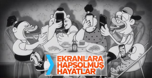 Telefona bağımlılığı anlatan kısa film: Bu Bizim Dünyamız