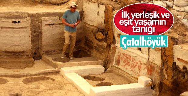 Çatalhöyük 9 bin yıllık insanlık tarihine ışık tutuyor