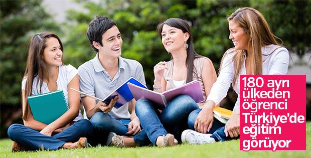 Türkiye'de uluslararası öğrenci bolluğu