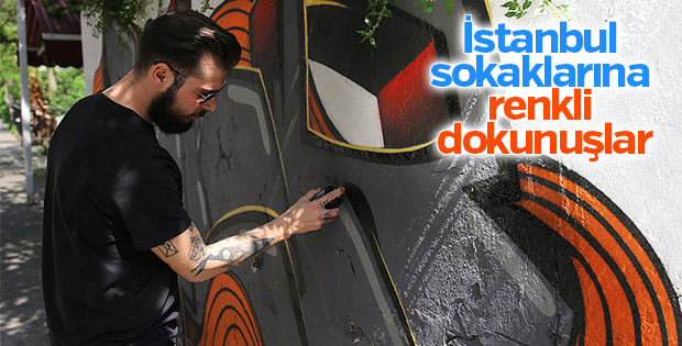 İstanbul'un duvarları renkleniyor