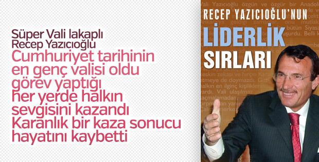 Turan Yalçın'dan Recep Yazıcıoğlu'nun Liderlik Sırları kitabı