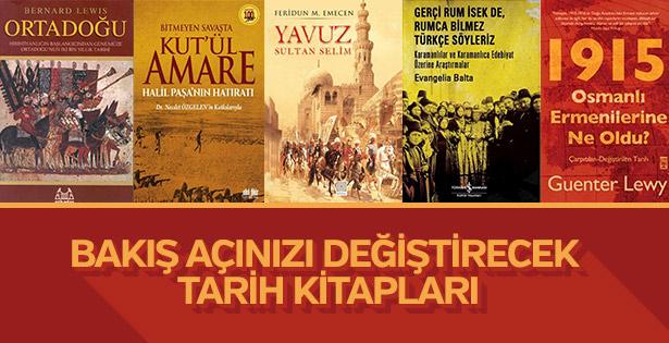 Sizin için önerdiğimiz önemli tarih kitapları
