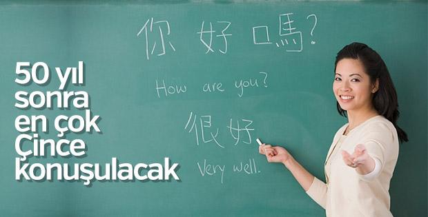 Gelecek 50 yılın en çok konuşulan dili Çince olacak