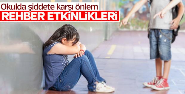 Sınıf rehberlik etkinlikleriyle şiddet önlenecek