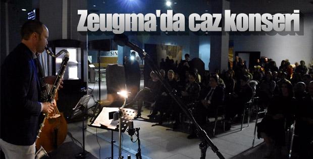 Zeugma Mozaik Müzesi'nde caz konseri