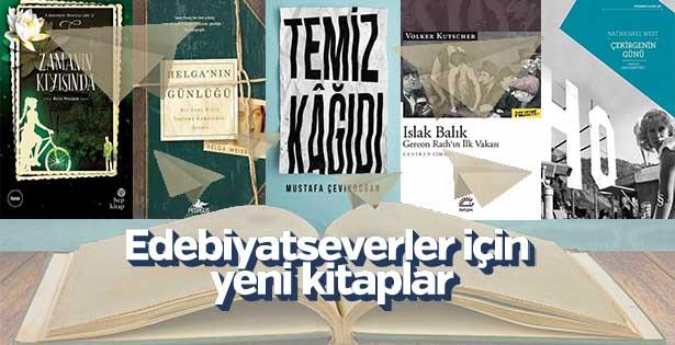 Edebiyatseverler için yeni kitaplar
