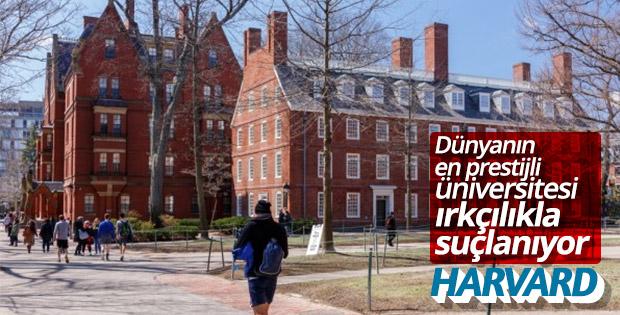 Harvard Üniversitesi'ne ırkçılık davası