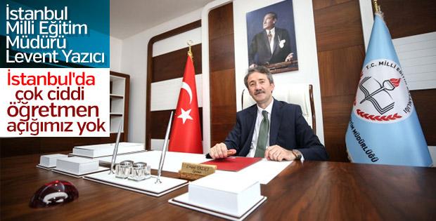 İstanbul'da ciddi bir öğretmen açığı bulunmuyor