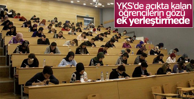 YKS'de 1 milyon öğrenci açıkta kaldı
