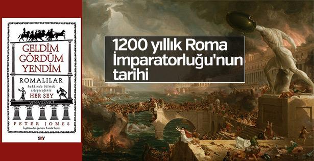 Peter Jones'dan Roma İmparatorluğu'nun tarihi