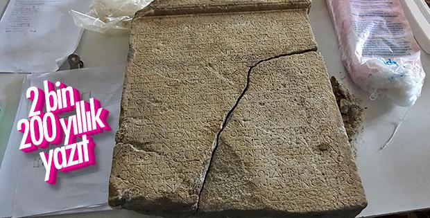 Antandros'ta 2 bin 200 yıllık kararname