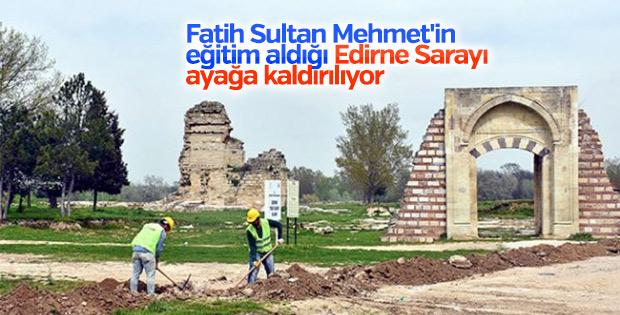 Edirne Sarayı turizme açılacak