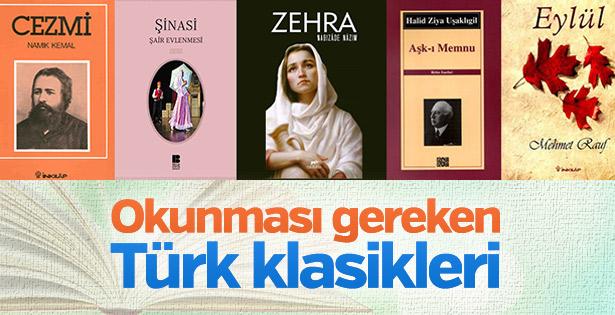 Okunması gereken Türk klasikleri