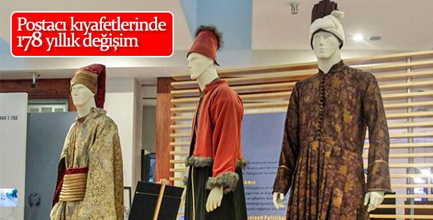 Postacı kıyafetleri PTT Pul Müzesi'nde