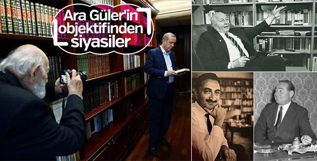 Siyasetçilerin ölümsüz anları Ara Güler'in kadrajında