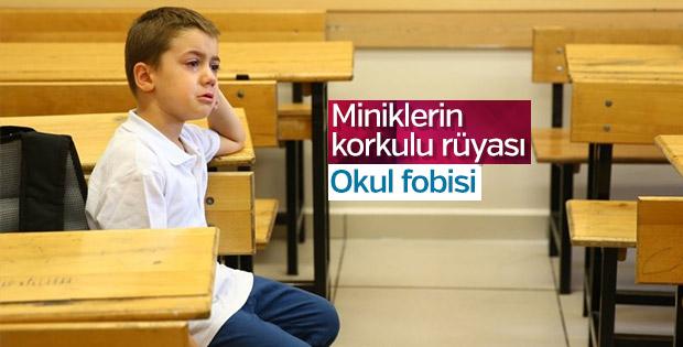 Çocuklarda okul fobisi