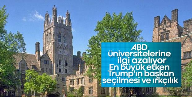 ABD'deki üniversitelere ilgi giderek azalıyor