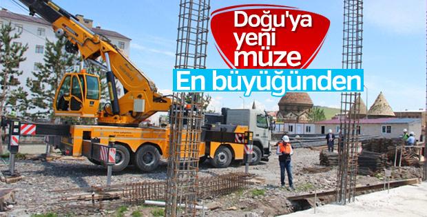 Doğu'nun en büyük müzesi Erzurum'a yapılıyor