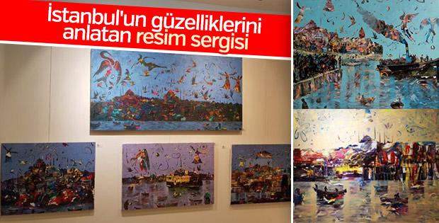 'Büyüleyen Şehir İstanbul Sergisi' açıldı