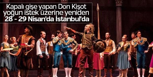 Don Kişot İstanbul'da sahnelendi