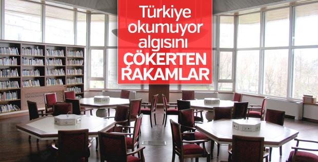 Türkiye'nin kütüphane istatistikleri arttı