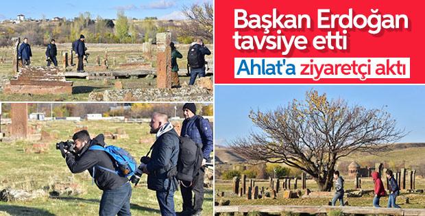 Erdoğan 'muhakkak gidin' demişti ziyaretçi patlaması yaşanıyor ile ilgili görsel sonucu