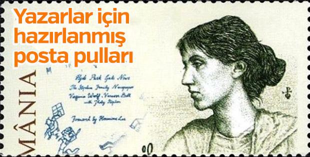 Yazarlar için hazırlanmış posta pulları