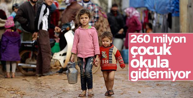 2030 yılına kadar 400 milyon çocuk okulsuz kalabilir
