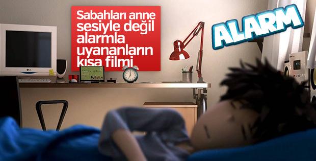 Zamanımızı ayarlayan kısa film: Alarm