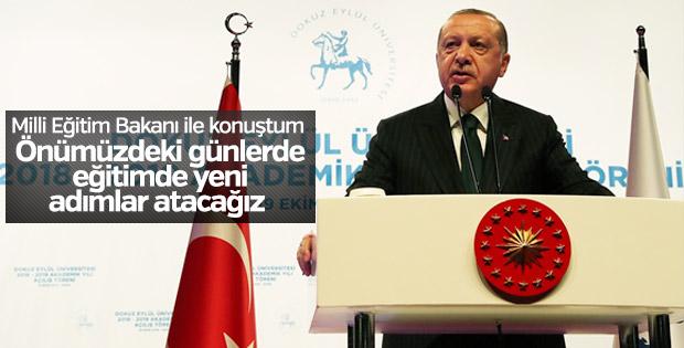 Başkan Erdoğan: Eğitimde yeni bir diriliş gerçekleşecek