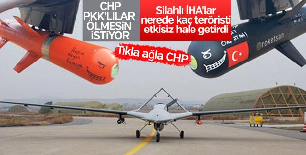 SİHA'lar PKK'ya geçit vermiyor