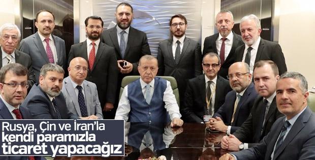 Erdoğan kur baskısını azaltmak için işe koyuldu