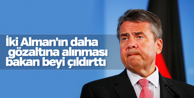 Türkiye'deki gözaltılar Gabriel'i rahatsız etti