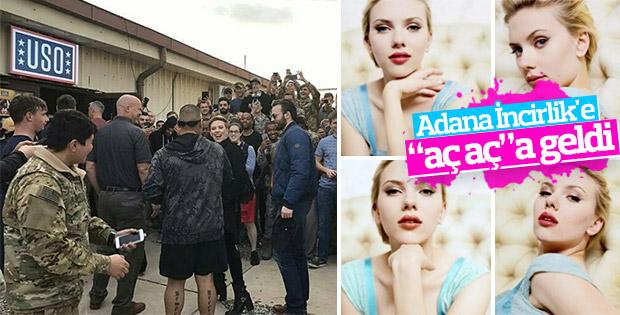 Scarlett Johansson Adana'da