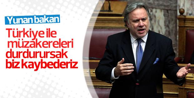Yunan bakandan Türkiye açıklaması