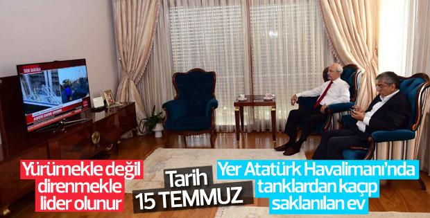 Kılıçdaroğlu'nun 15 Temmuz fotoğrafı