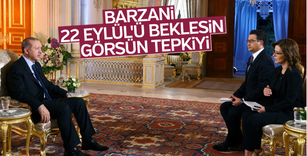 Erdoğan'dan Kuzey Irak çıkışı